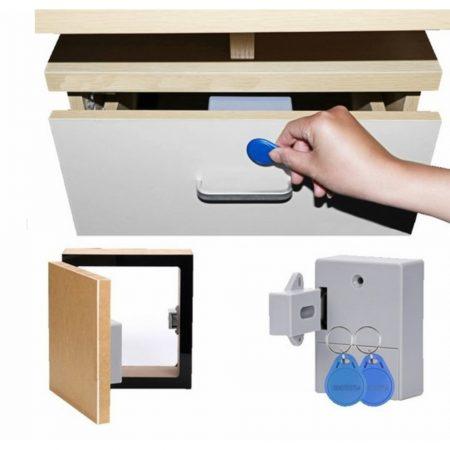 Bateriový RFID zámek pro skříňky a šuplíky Cabin Lock